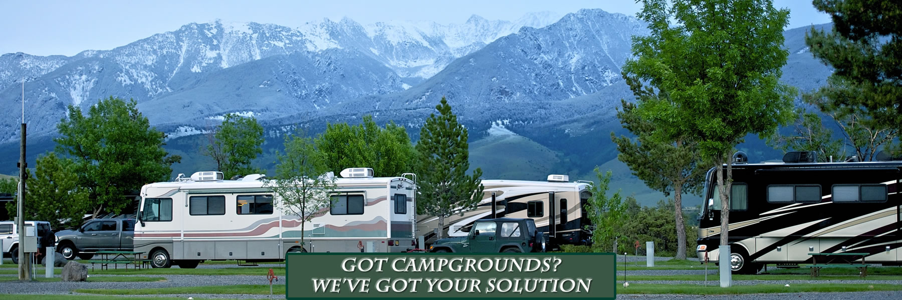 Campground and RV park reservation software